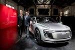 Электрический кросс Audi E-Tron Sportback Concept представлен официально - фото 5