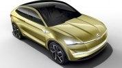 Электрический купе-кроссовер Skoda Vision E - фото 1