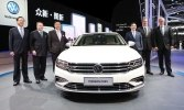 В Шанхае представлен гибридный седан Volkswagen Phideon PHEV - фото 3