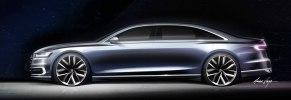 Новая Audi A8: «подпрыгивающая» подвеска, смартфон вместо ключа и массаж ступней - фото 111