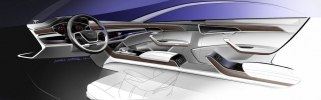 Новая Audi A8: «подпрыгивающая» подвеска, смартфон вместо ключа и массаж ступней - фото 113
