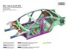 Новая Audi A8: «подпрыгивающая» подвеска, смартфон вместо ключа и массаж ступней - фото 40