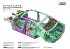 Новая Audi A8: «подпрыгивающая» подвеска, смартфон вместо ключа и массаж ступней - фото 41