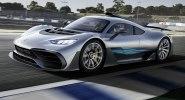 Mercedes-AMG Project One: живые фото первого гиперкара Мерседес - фото 1