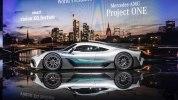 Mercedes-AMG Project One: живые фото первого гиперкара Мерседес - фото 15