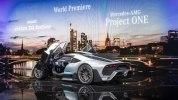 Mercedes-AMG Project One: живые фото первого гиперкара Мерседес - фото 16