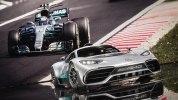 Mercedes-AMG Project One: живые фото первого гиперкара Мерседес - фото 18