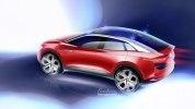 Обновлённый кроссовер: Volkswagen показал прототип I.D. Crozz II - фото 10