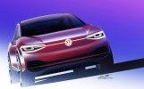 Обновлённый кроссовер: Volkswagen показал прототип I.D. Crozz II - фото 2