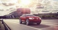 Обновлённый кроссовер: Volkswagen показал прототип I.D. Crozz II - фото 33