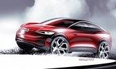 Обновлённый кроссовер: Volkswagen показал прототип I.D. Crozz II - фото 5