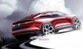 Обновлённый кроссовер: Volkswagen показал прототип I.D. Crozz II - фото 6