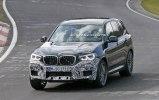 «Заряженный» BMW X3 M замечен на Нюрбургринге - фото 3