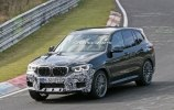 «Заряженный» BMW X3 M замечен на Нюрбургринге - фото 4