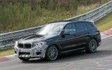 «Заряженный» BMW X3 M замечен на Нюрбургринге - фото 5