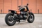 BAAK Motocyclettes: боббер Triumph Bonneville T120 Black - фото 1