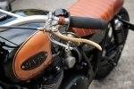 BAAK Motocyclettes: боббер Triumph Bonneville T120 Black - фото 3