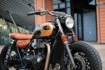 BAAK Motocyclettes: боббер Triumph Bonneville T120 Black - фото 4