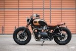 BAAK Motocyclettes: боббер Triumph Bonneville T120 Black - фото 6