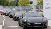 Серийный Porsche Mission E за $85 тыс. уже видели на дорогах общего пользования - фото 7