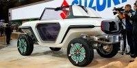 Suzuki показала в Токио внедорожник с открытым верхом - фото 4