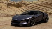 Honda представила виртуальный спорткар Sports Vision GT - фото 2