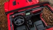 Новый Jeep Wrangler: алюминиевый кузов и крыша с электроприводом - фото 104