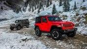 Новый Jeep Wrangler: алюминиевый кузов и крыша с электроприводом - фото 109