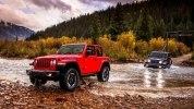 Новый Jeep Wrangler: алюминиевый кузов и крыша с электроприводом - фото 112