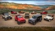 Новый Jeep Wrangler: алюминиевый кузов и крыша с электроприводом - фото 150