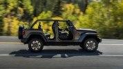 Новый Jeep Wrangler: алюминиевый кузов и крыша с электроприводом - фото 20