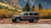Новый Jeep Wrangler: алюминиевый кузов и крыша с электроприводом - фото 49