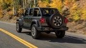 Новый Jeep Wrangler: алюминиевый кузов и крыша с электроприводом - фото 5