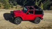 Новый Jeep Wrangler: алюминиевый кузов и крыша с электроприводом - фото 69