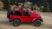 Новый Jeep Wrangler: алюминиевый кузов и крыша с электроприводом - фото 72