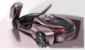 BMW официально представила открытую модификацию гибридного споткара i8 - фото 110