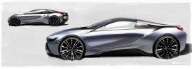 BMW официально представила открытую модификацию гибридного споткара i8 - фото 111