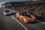 BMW официально представила открытую модификацию гибридного споткара i8 - фото 37