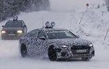Новый Audi A6 «застукали» на дорожных тестах - фото 4