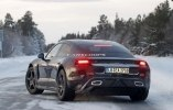 Porsche испытала свой первый электрокар в зимних условиях - фото 11