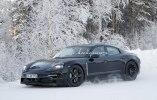 Porsche испытала свой первый электрокар в зимних условиях - фото 1