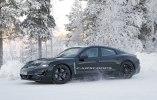 Porsche испытала свой первый электрокар в зимних условиях - фото 2