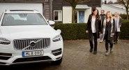 Volvo предоставит шведским семьям сотню беспилотных автомобилей - фото 1