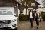 Volvo предоставит шведским семьям сотню беспилотных автомобилей - фото 19