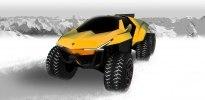 Lamborghini Raton – новый брутальный внедорожник независимого дизайнера - фото 1