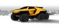Lamborghini Raton – новый брутальный внедорожник независимого дизайнера - фото 2