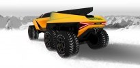 Lamborghini Raton – новый брутальный внедорожник независимого дизайнера - фото 3