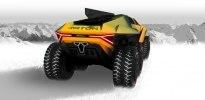 Lamborghini Raton – новый брутальный внедорожник независимого дизайнера - фото 4