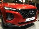 «Премиальный» Hyundai Santa Fe представлен на Женевском автосалоне - фото 8