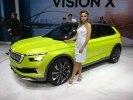 Skoda представила в Женеве концепт газового гибрида Vision X - фото 4